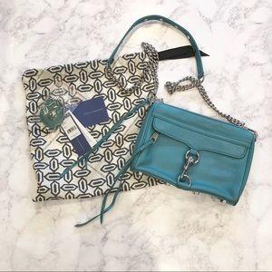 Rebecca Minkoff Mini MAC Teal Handbag
